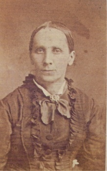 Aunt Patsy Hardy (looks like Eans) This is from Lenore Hardy Billups photo album