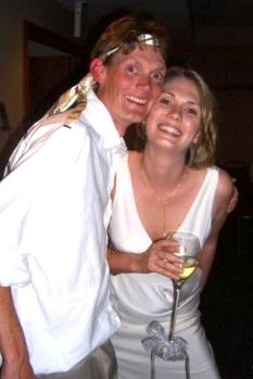 Bailey Ward with Sarah Ward Hoffman at her wedding