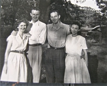 Betty and Carleton Billups with Tom and Sue Hardy