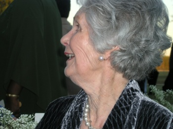 Betty Billups at grand daughter Cameron's wedding