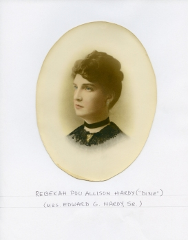 Rebekah Poe Allison Hardy (Dixie) Mrs. Edward G. Hardy, Sr