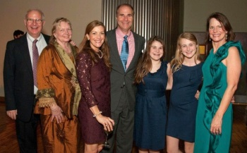 Helen Hardy, Sarah Frances Hardy, John Hardy and daughters, Sallie and Anne