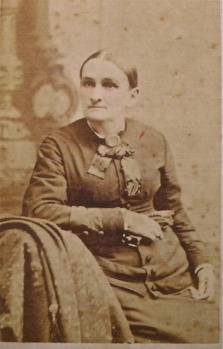 Lucy Rives Collier Bridgeforth Grandma Hardy, labeled in Lenore's album