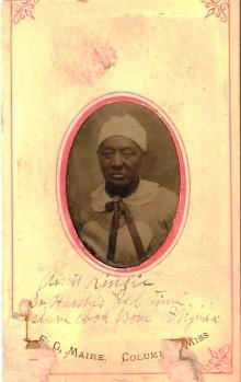 Aunt Kinzie, Hardy slave