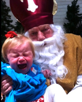 Harper Hoffman meets Santa Claus, it didn't go well