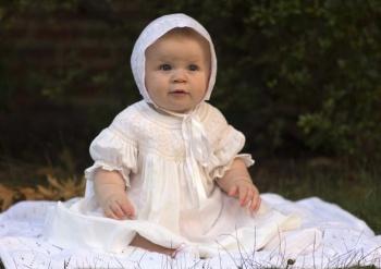 Harper Lenore Hoffman's baptism 2012