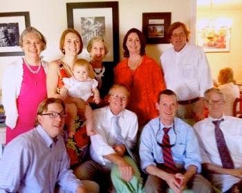 Harper's baptism in Alexandria, VA