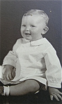 Houston Hardy as a boy