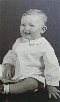 Houston Hardy as a boy
