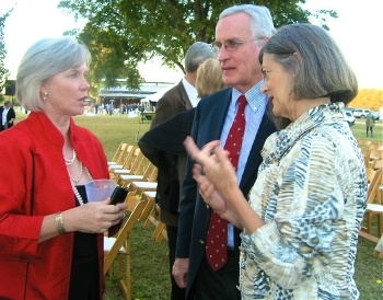 Jane Hardy explaining to Virginia McLean, cousin Hite's wife, how we are all related. Hours went by...
