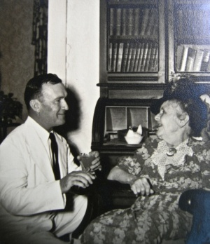Jennings Hardy with unknown elder