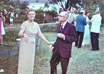 Lucille Hardy Kimbrough, with Buck Hardy