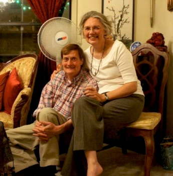 Rufus and Karen Ward 2012