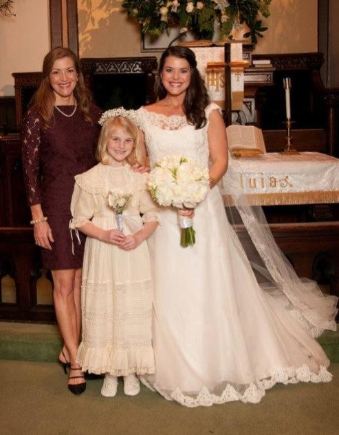 Sarah Frances with Julia Hardy, Caroline Webb Clark's ...