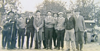 Skeet team of Hardy men and friends