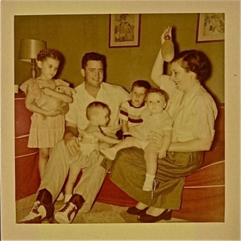 Somewhere in the 1950s, need family's names