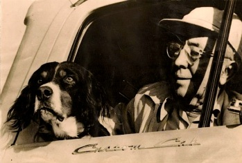 T Bailey Hardy and his dog, Doc