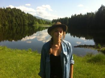 Annie Thornton in Stowe, Vermont 2012