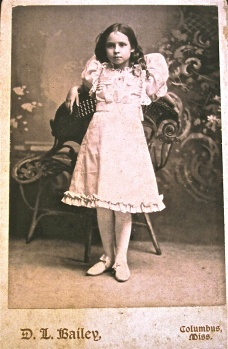 Unknown young girl